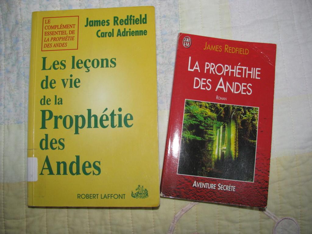 La prophétie des Andes de James Redfield et Les leçons de vie de La prophétie des Andes de JAmes Redfield et Carol Adrienne Img_6810