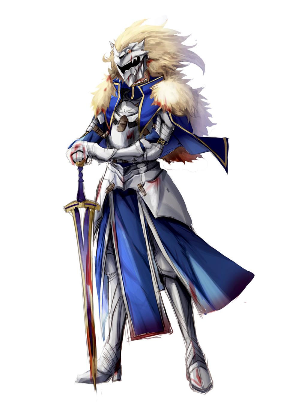 Arthur's White Knight Armor Tumblr11