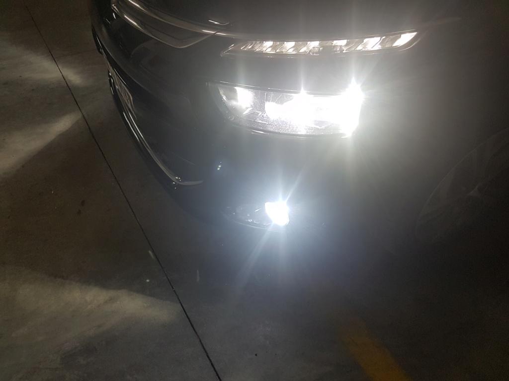 Sustitución luces halogenas por led en faros. 20180619