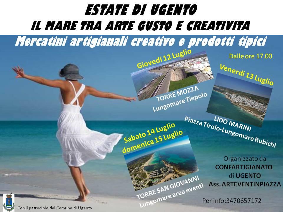 Il mare tra arte gusto e creatività Luglio11