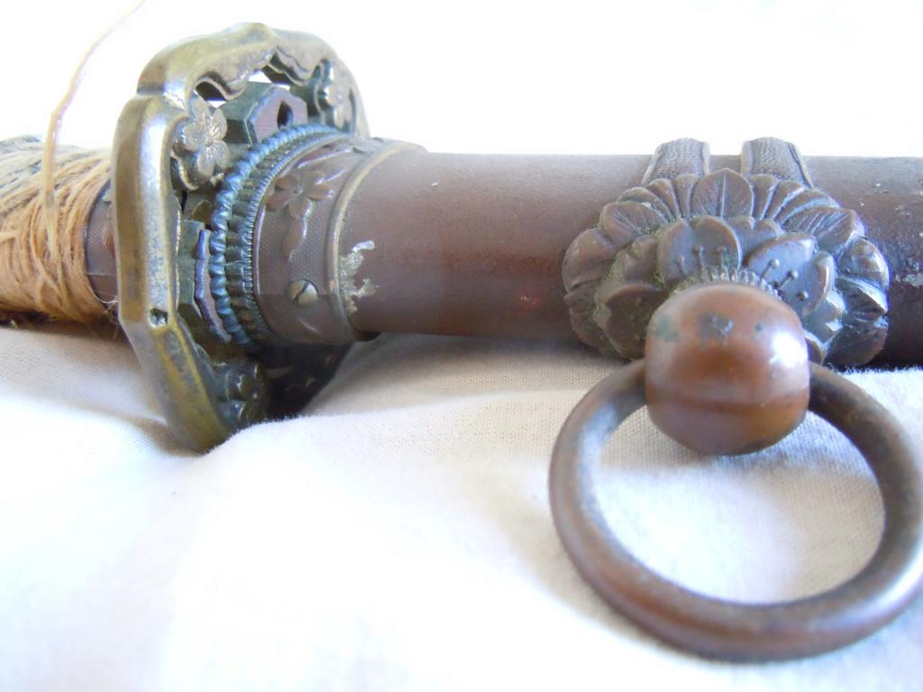 Sabre japonais datant de la guerre d'Indochine Dscn6212