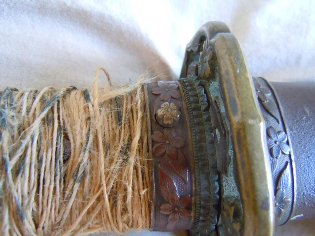 Sabre japonais datant de la guerre d'Indochine Dscn6217