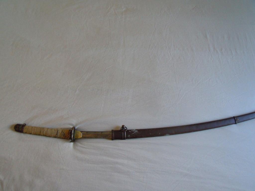 Sabre japonais datant de la guerre d'Indochine Dscn6221