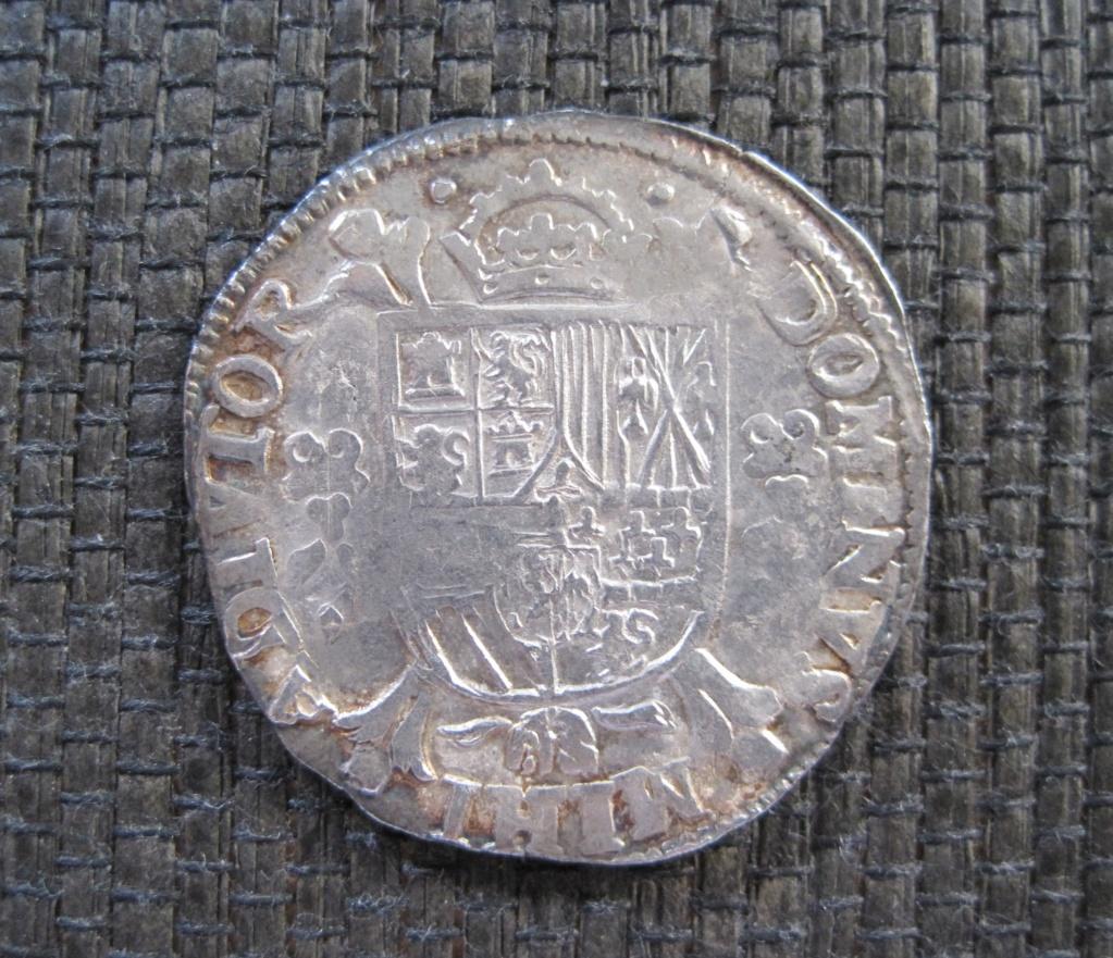 1/5 escudo de Felipe II, Nimega, dedicada a JO3023. Ref13014