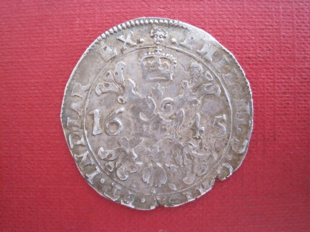 1/4 patagón 1645. Felipe IV. Bruselas Ref20c10