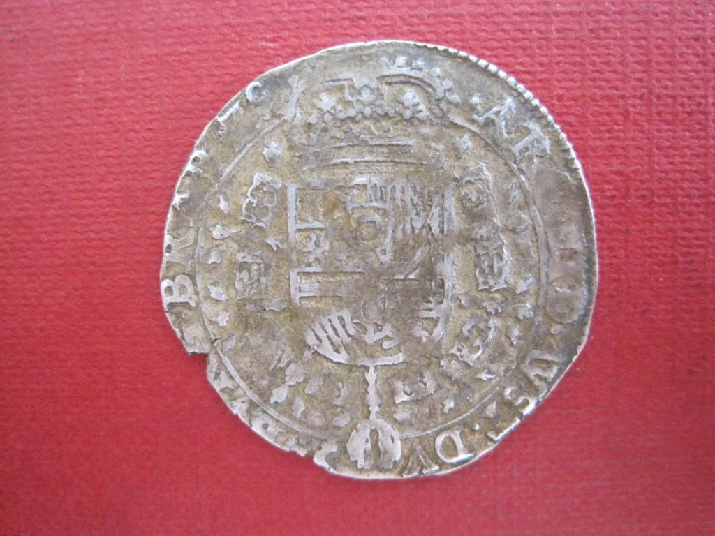 1/4 patagón 1645. Felipe IV. Bruselas Ref20c11