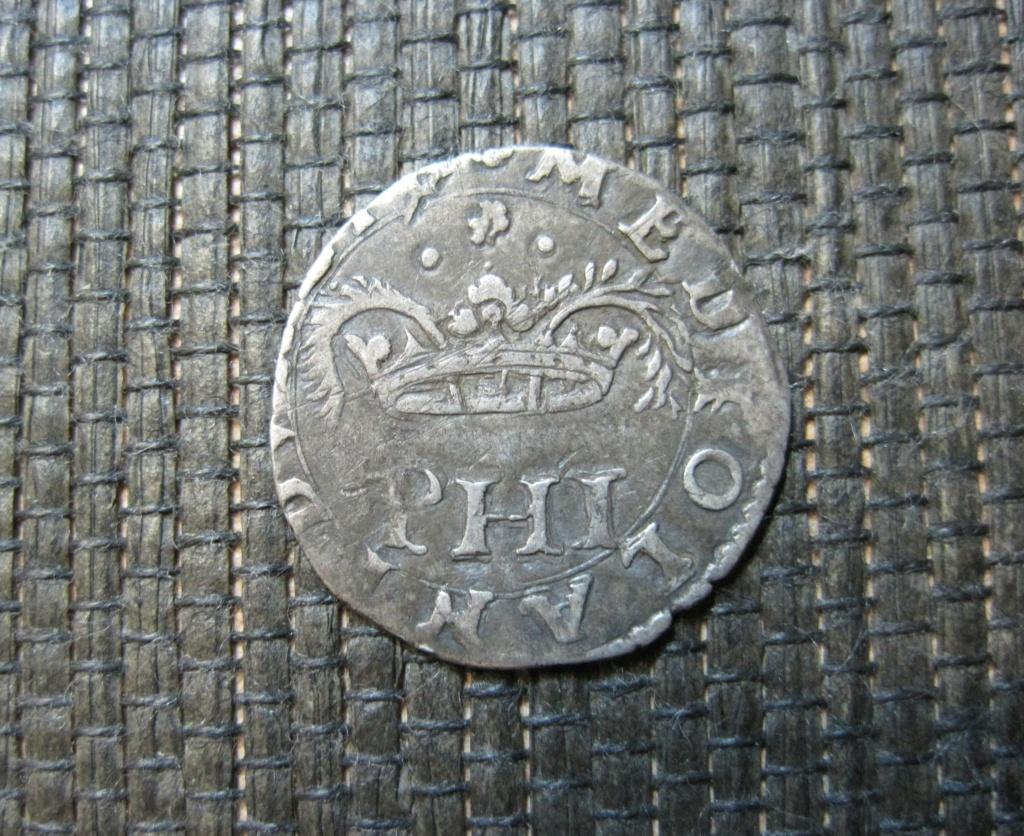 Dinero de 5 Sueldos de Felipe II, Milán Ref21c10