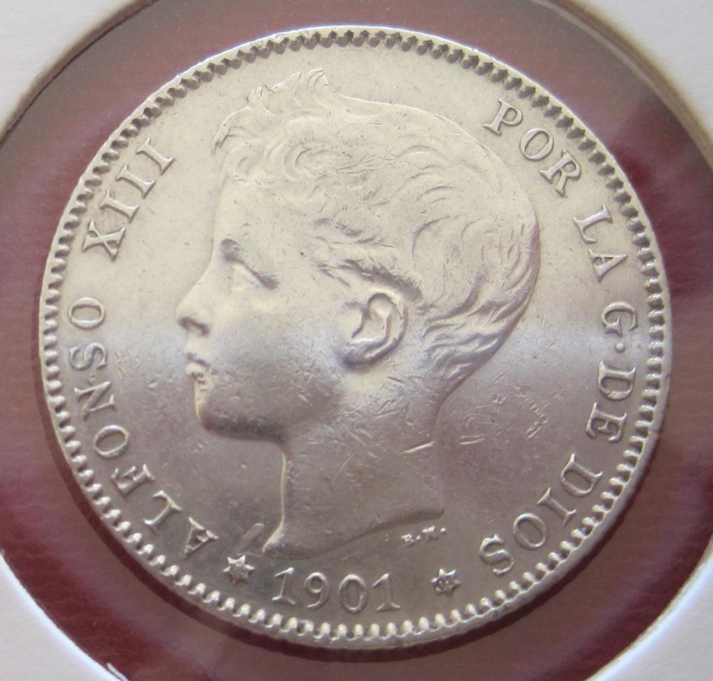 1 Peseta 1901 Alfonso XIII Ref26912