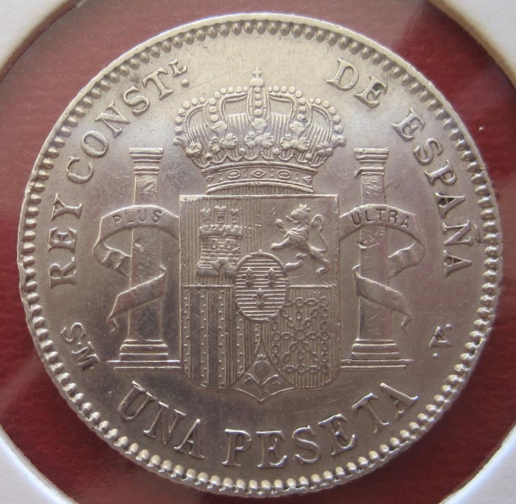 1 Peseta 1901 Alfonso XIII Ref26913