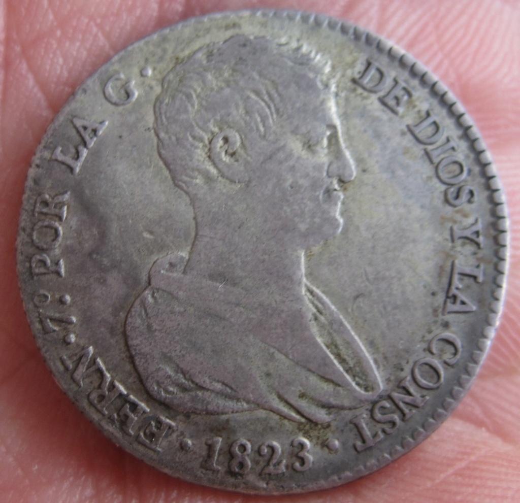 4 reales 1823. Fernando VII. Valencia. Dedicada a todos los Valencianos del Foro Ref30910