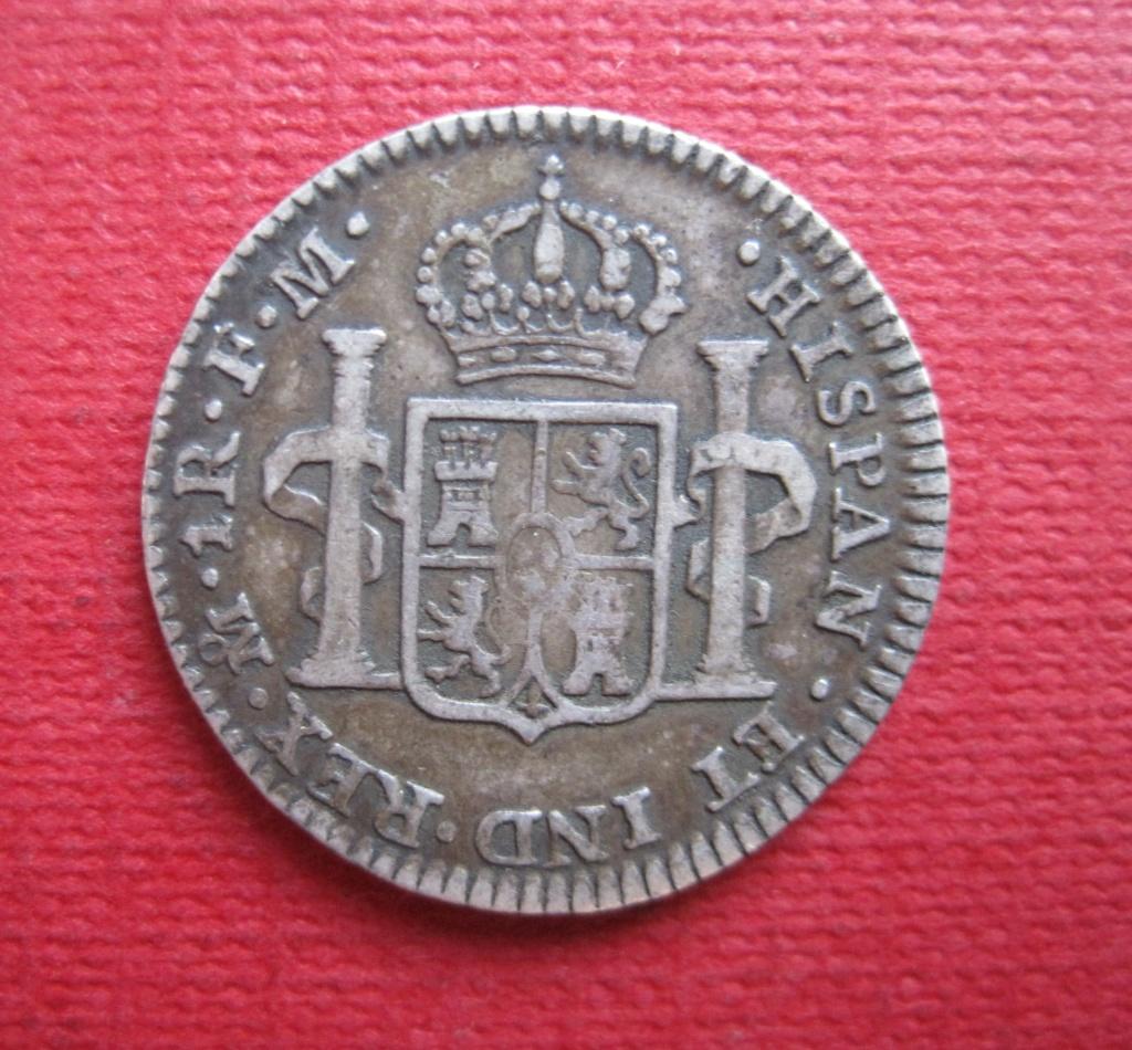 1 Real 1798. Carlos IIII. México Ref44c10