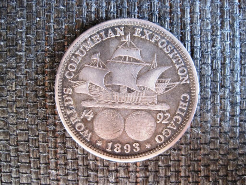 1/2 Dólar 1893 Expo 1893 Ref55c10