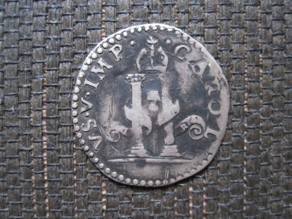Dinero de 8 Sueldos de Carlos V Ref58911