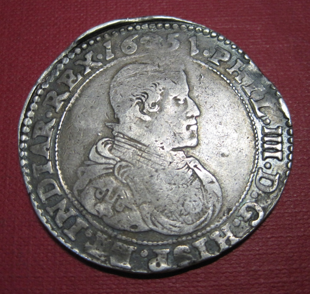 Ducatón 1651. Felipe IV. Bruselas. Ref59611