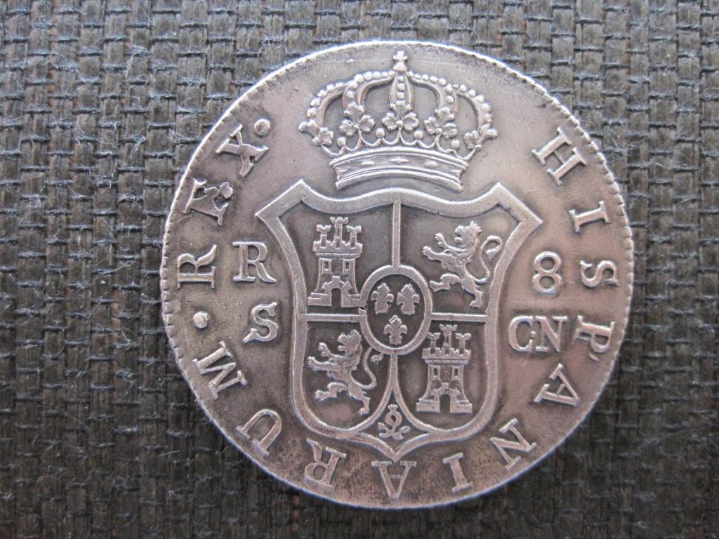 8 Reales 1809. Fernando VII. Sevilla Ref66410