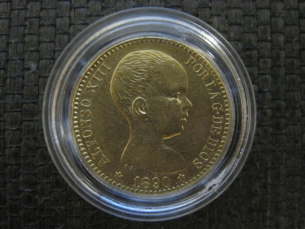 20 Pesetas 1890. Alfonso XIII Ref67710