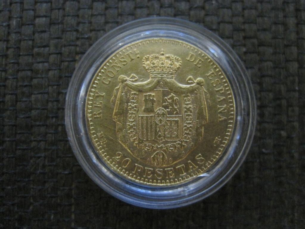 20 Pesetas 1890. Alfonso XIII Ref67711