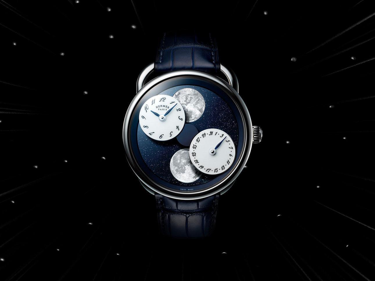 SIHH 2019 : Hermès Arceau l'Heure de la Lune Hermes10