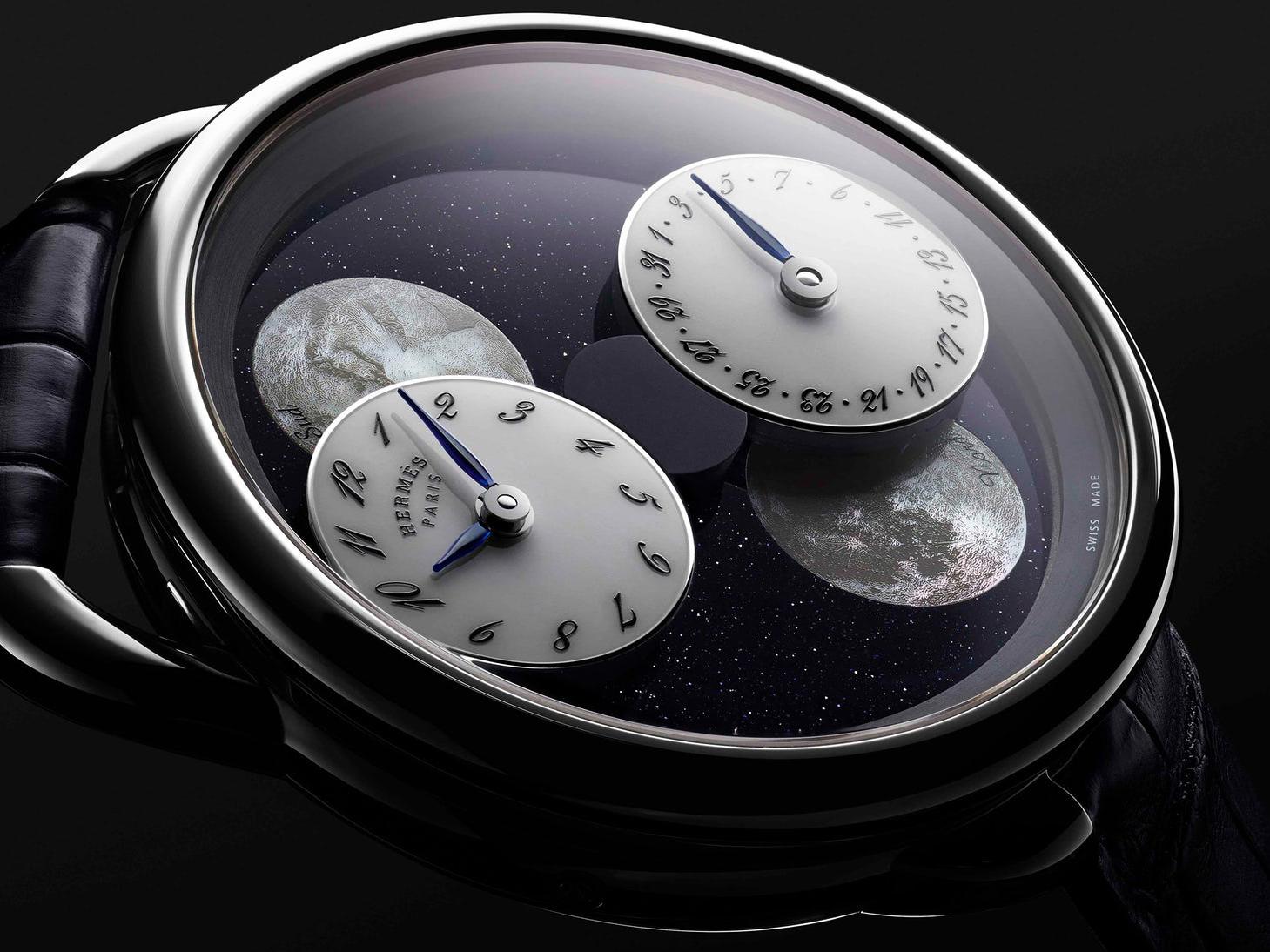 SIHH 2019 : Hermès Arceau l'Heure de la Lune Hermes11