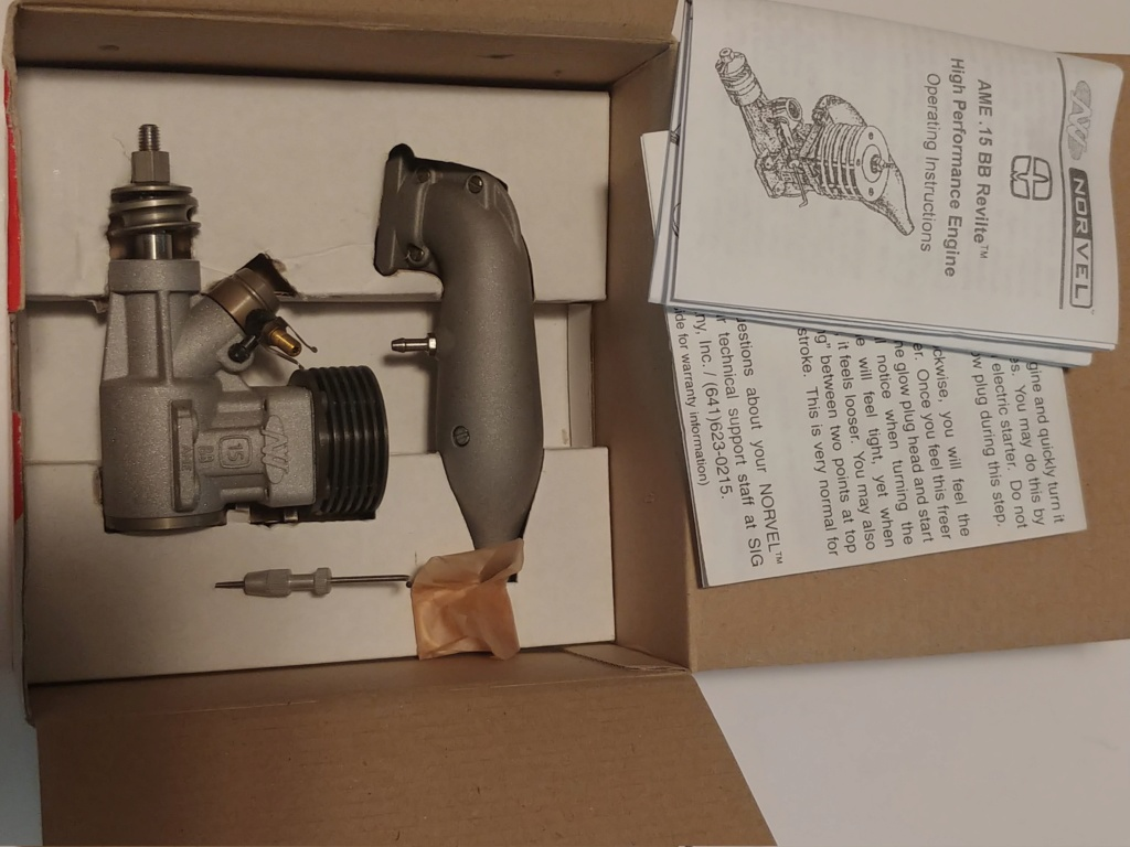 Norvel Engines Some Used but Mostly NIB, and Parts! 20190414