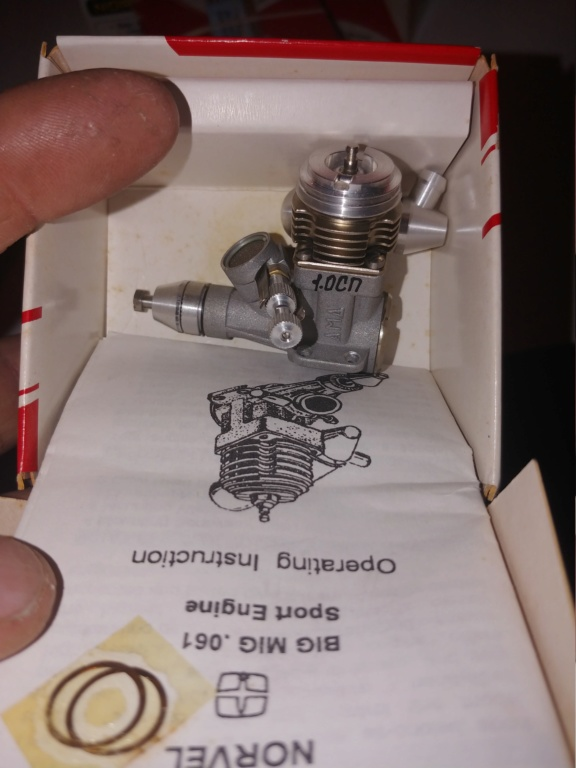 Norvel Engines Some Used but Mostly NIB, and Parts! 20190416