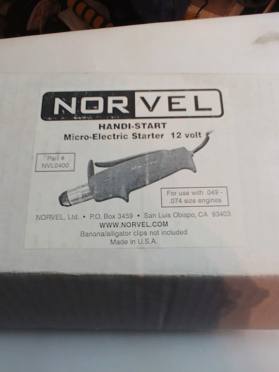 Norvel Handi-Start Micro Electric Starter 20190515