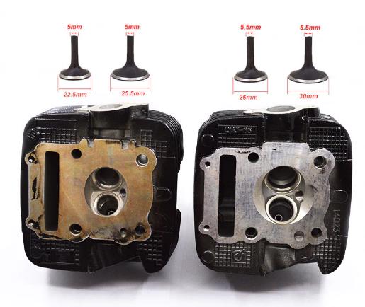 RKV125 Rehacer motor, mecánica avanzada. Culata10