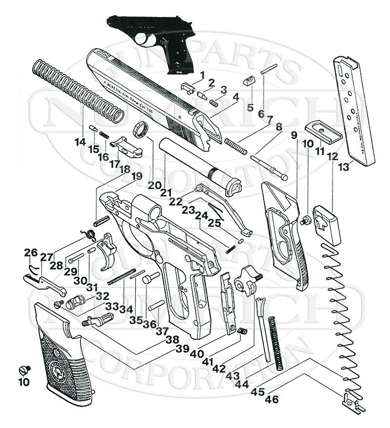 Chargeur 9mm para mais pour quelle pistolet??? Berett10