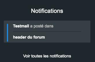 Titre dans les notifications de suivi  A10