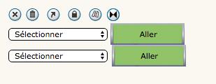 """Outils de modération, modifier l'option """"Sélectionner"""" Mod110"""