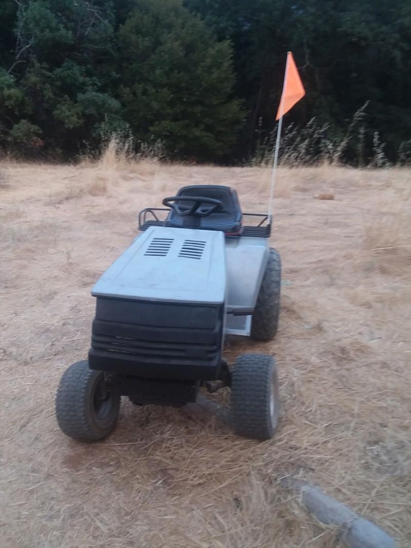 Craftsman 18hp Rally Mower 20181014