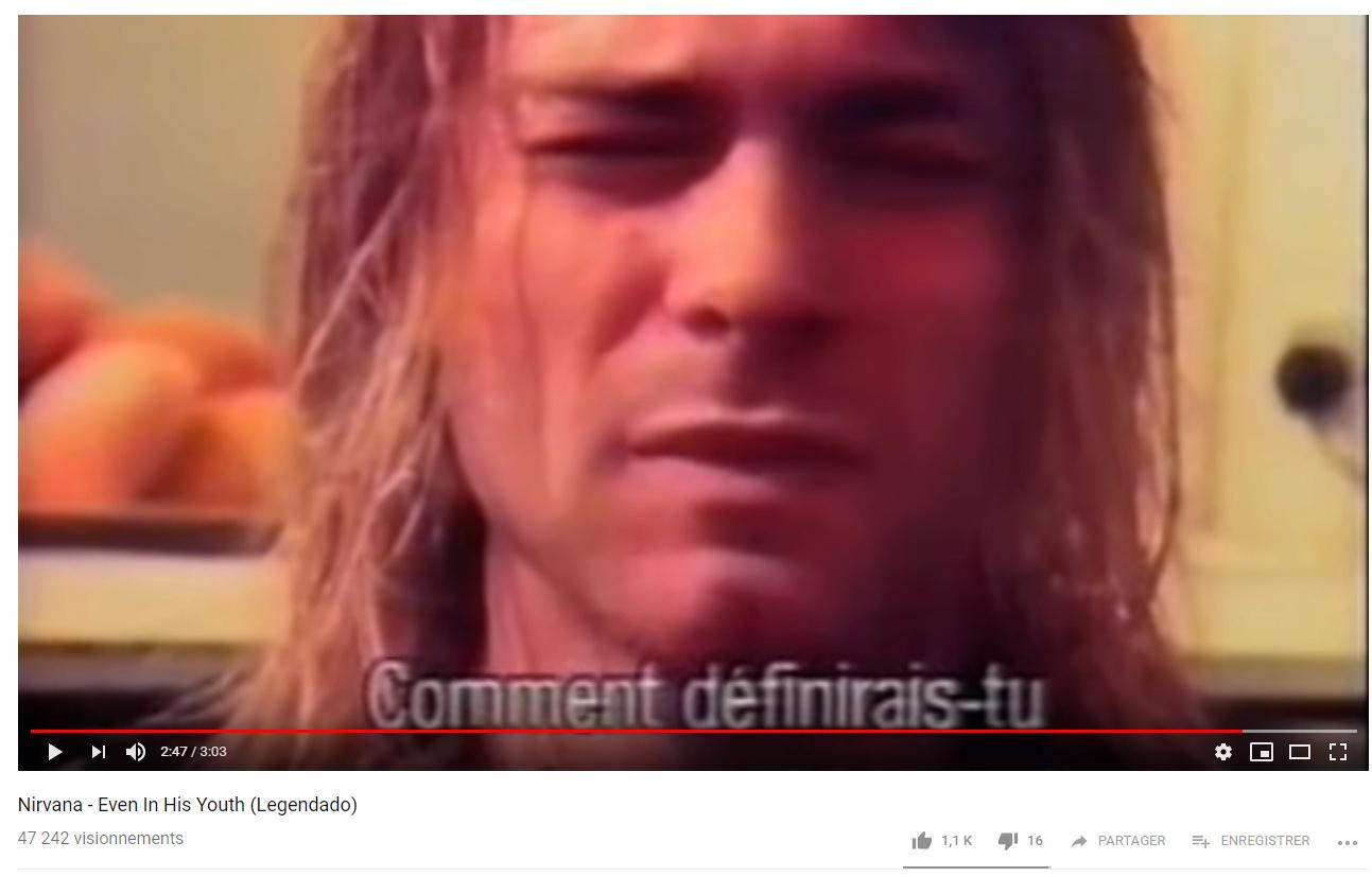 Saviez-vous que Kurt Cobain avait entre-autres des origines Canadienne-Françaises ? ?  Pourto10