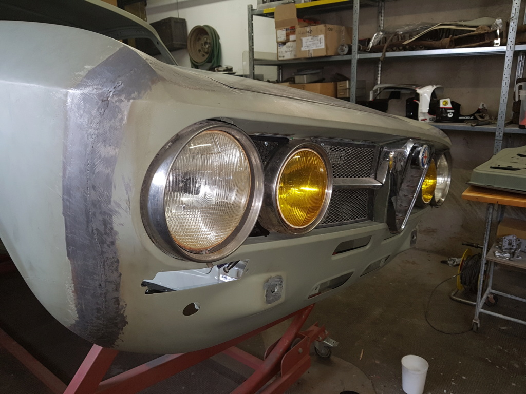 Restauration Alfa 2000 GT Veloce - Page 6 20171010