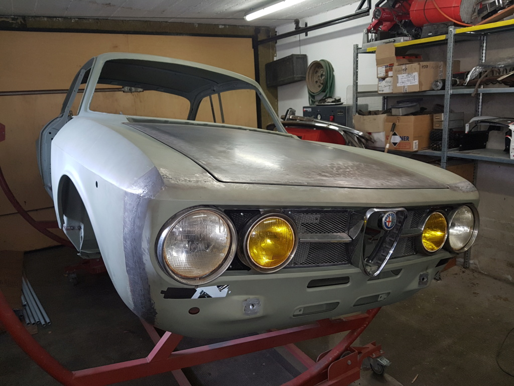 Restauration Alfa 2000 GT Veloce - Page 6 20171011