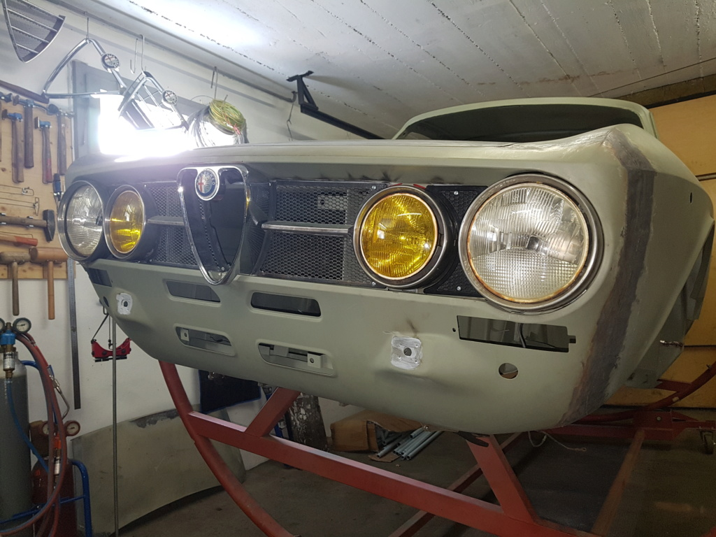 Restauration Alfa 2000 GT Veloce - Page 6 20171012
