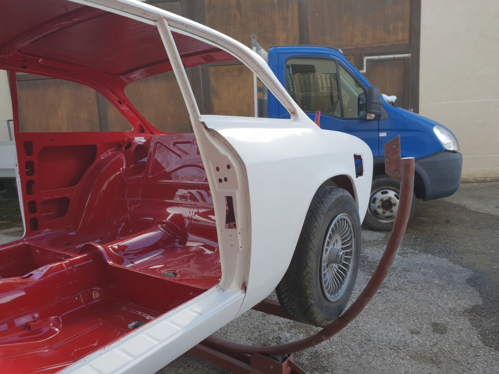 Restauration Alfa 2000 GT Veloce - Page 10 20190413