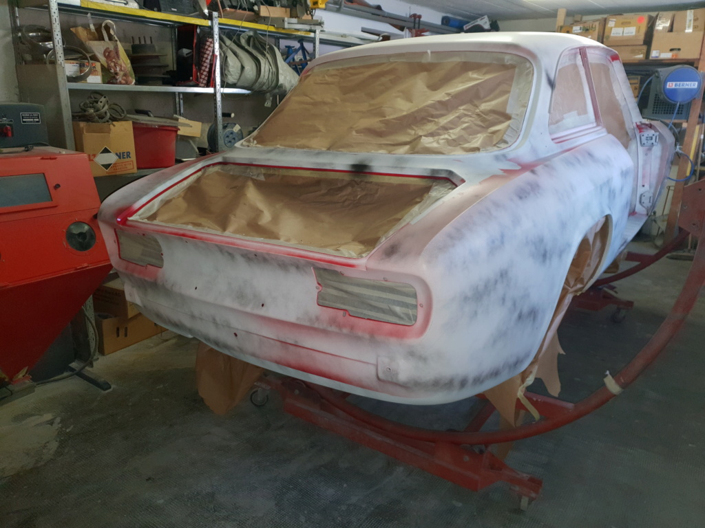 Restauration Alfa 2000 GT Veloce - Page 10 20190414