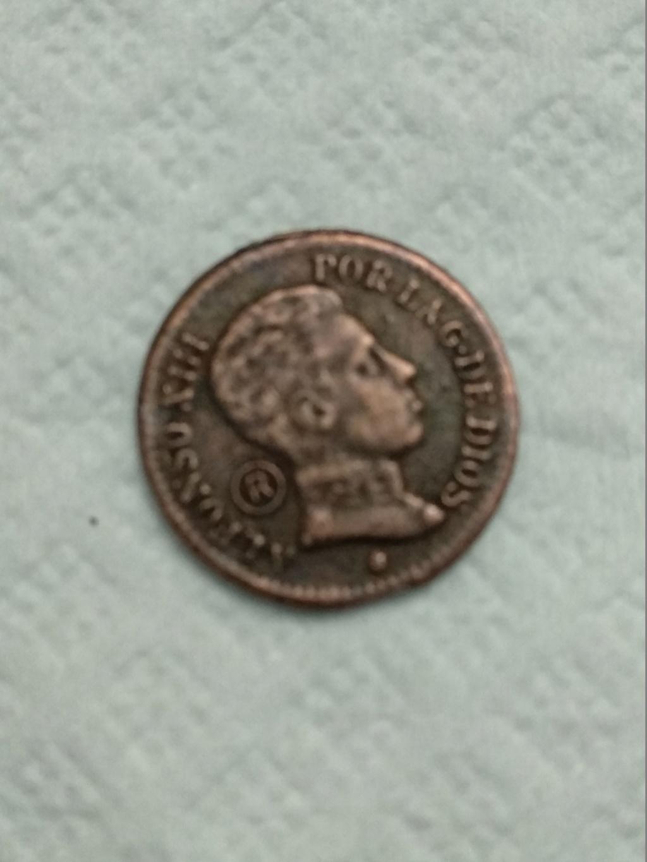 1 centimo Alfonso XIII 1906 con marca rara Img_2010