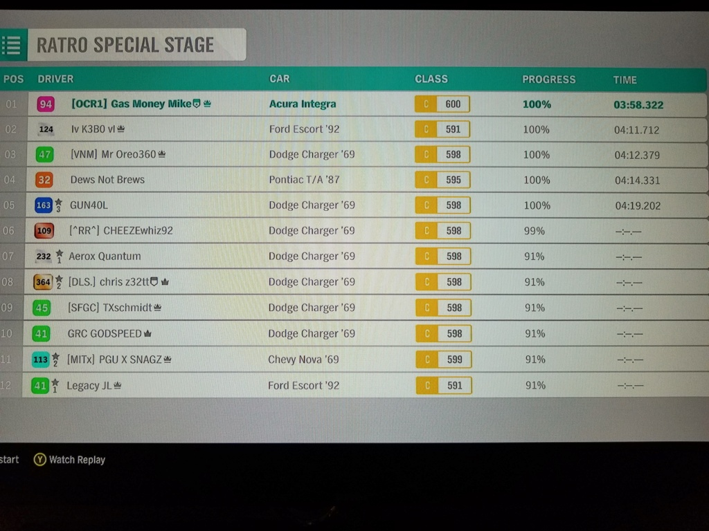 FH4 Time Attack | Ratr0 Special Stage - MnM C600 Spec  20190211