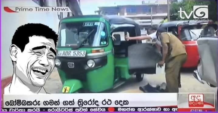 PICKME  Taxis helps terrorists to transport Bombs in Sri Lanka 10900710