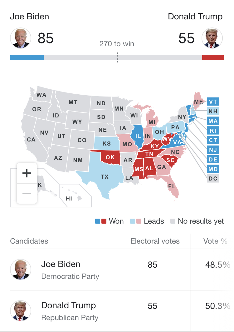 US Presidential Elections 7f836c10