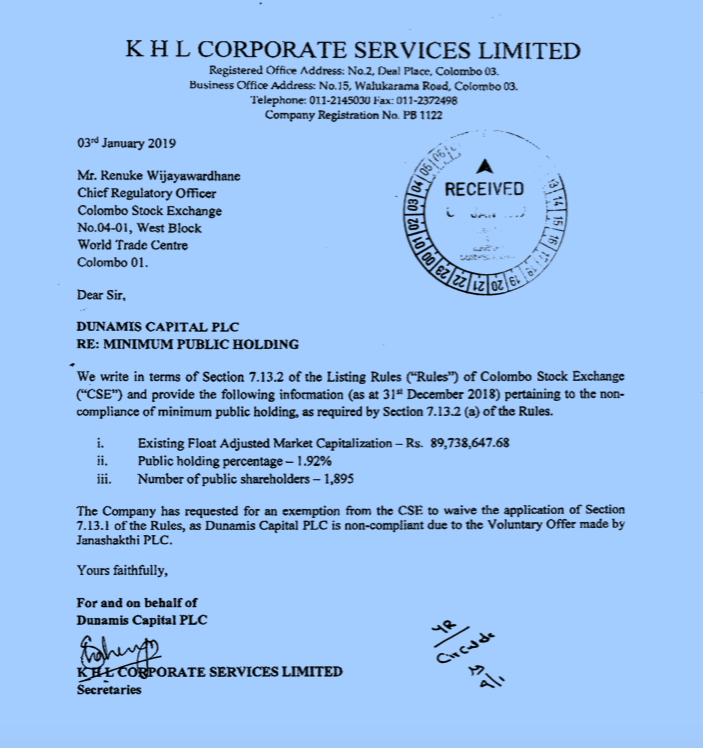 Sri Lankan public listed companies are violating listing Rules.  Screen20