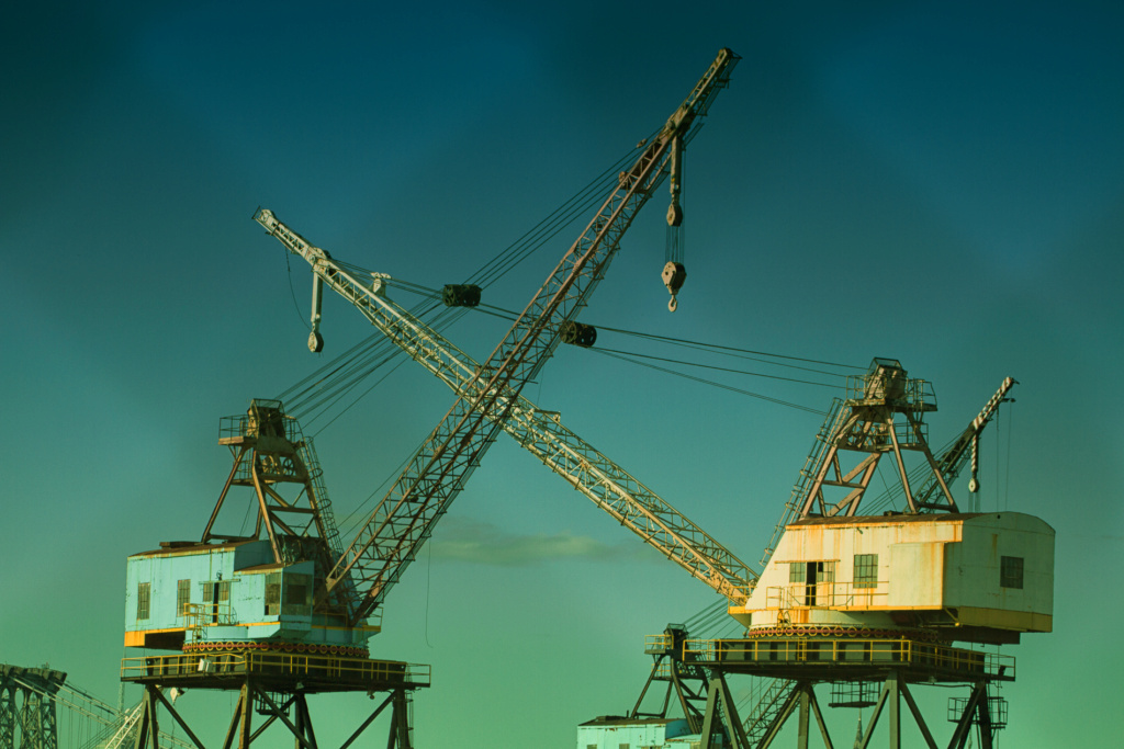 Grues sur barges & remorqueur (Impression 3D 1/350°) de NOVA73 Crane-10