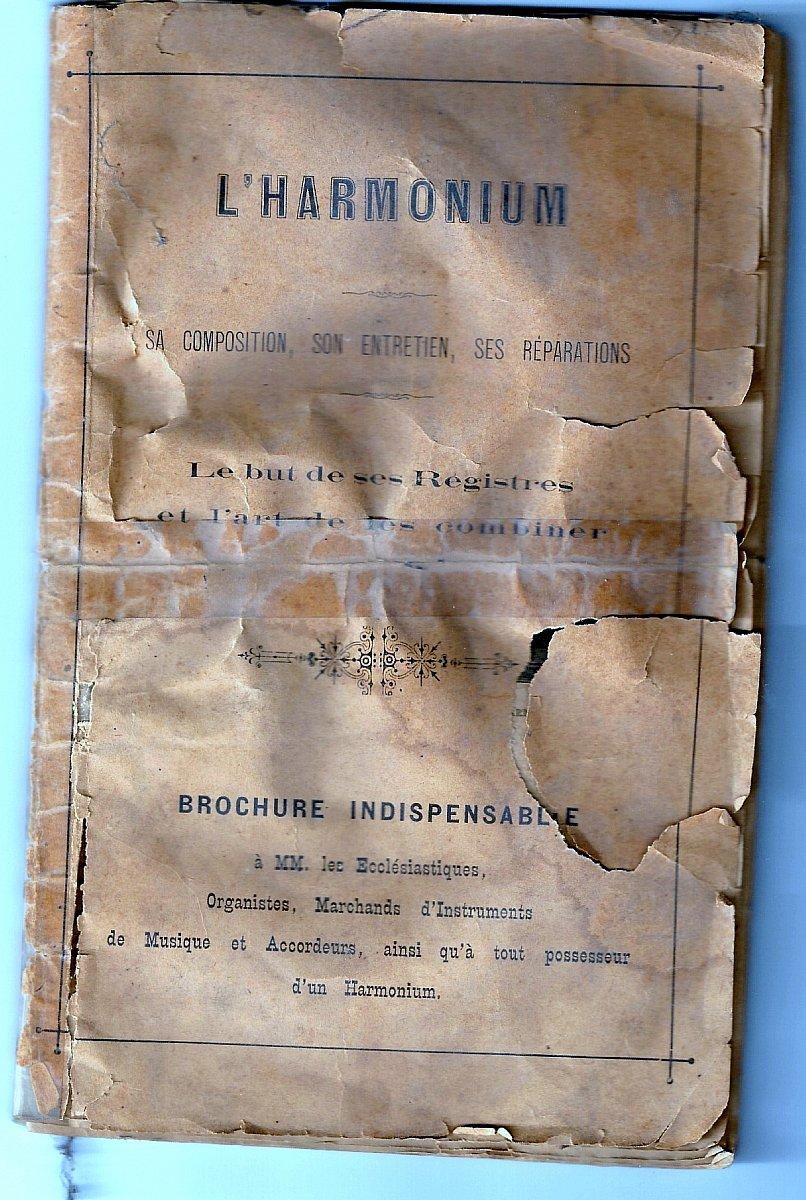 Connaitre la valeur de mon harmonium ancien  Brochu10