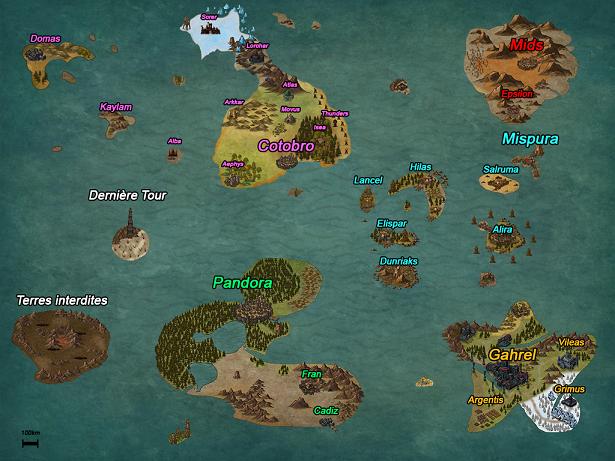 Carte du monde. Cartes10