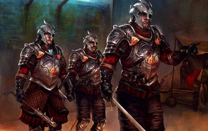 Guerre et donjon, l'histoire d'un Gardien Illust12