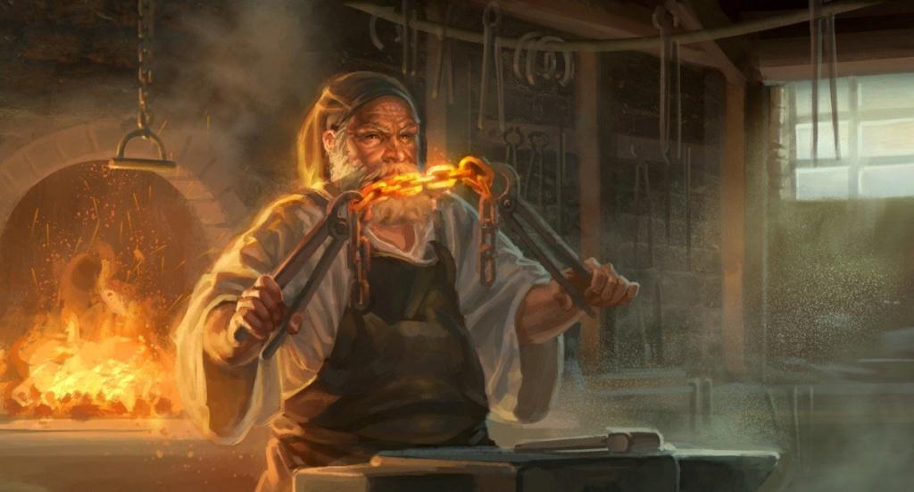 Hermet Linpel, le forgeron légendaire Mike-c11