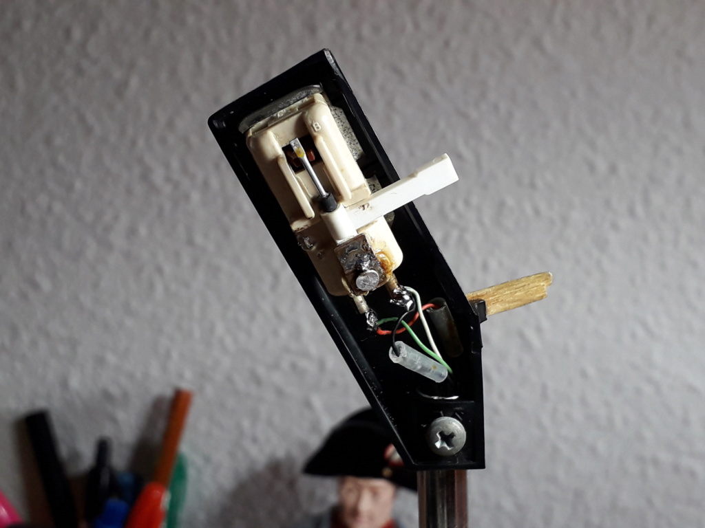 ¿Qué inclinación debe tener la cápsula de un tocadiscos? 510