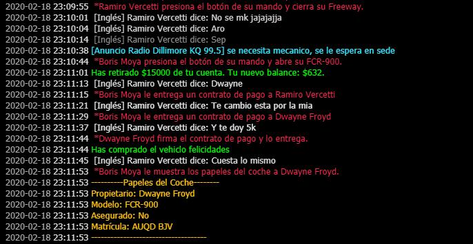 Reporte a usuarios [Tucano_2] [Peyo_Ssj] [Ramiro_vercetti] [Boris Moya] Y acusados en reporte. Fcr12