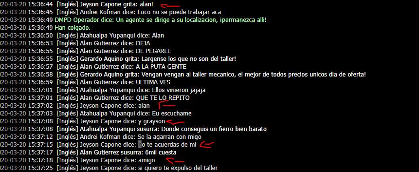 Reporte a (Alan Gutierrez) Peter10
